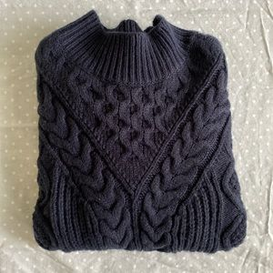 abercrombie knitted fitted sweater